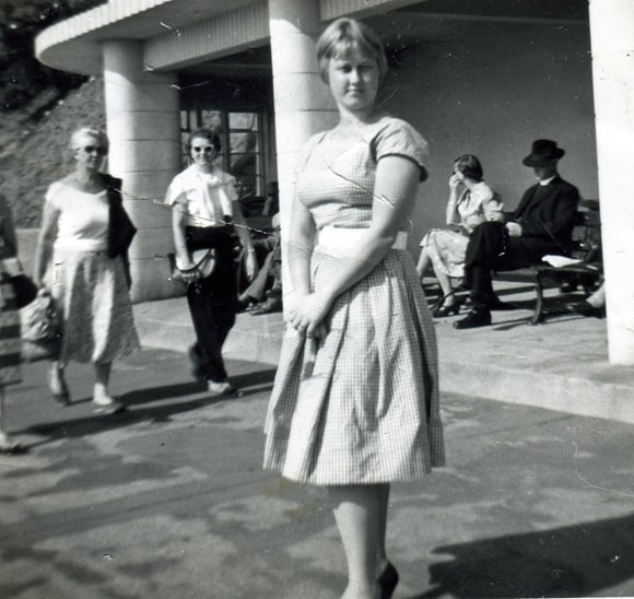 Mum as a young woman