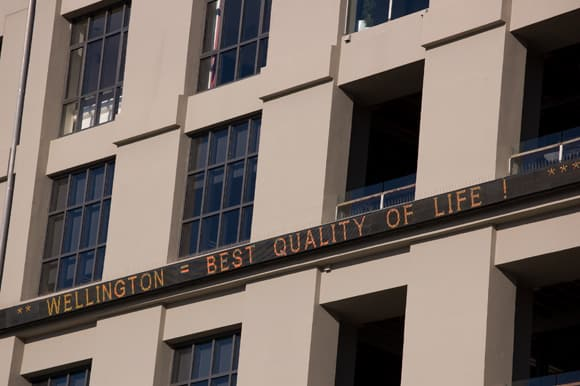 Wellington - a place for quality of life