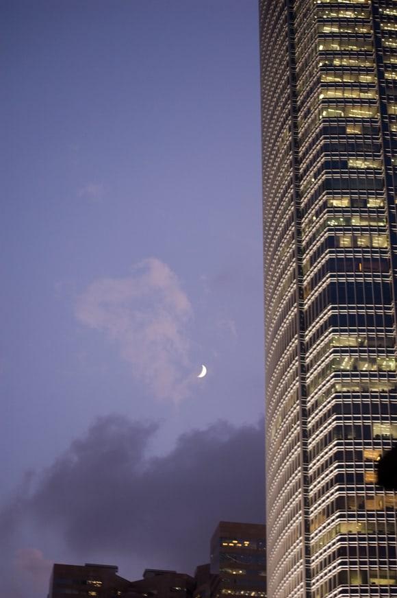 Moonstruck in Hong Kong